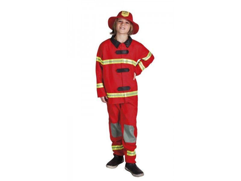 dětský kostým hasič 4-6 let c46a28741d3
